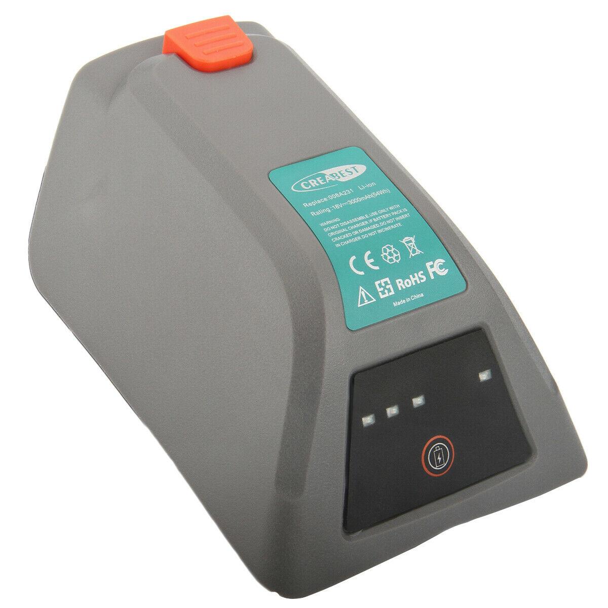 akku für Gardena 8025-20 Comfort Wand-Schlauchbox 35 roll-up 18v 3000mah li-Ion (kompatibel)