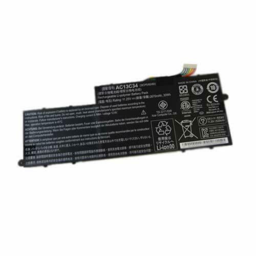 akku für Acer Aspire V5-122 V5-122P V5-132 V5-132P v5-122p-0643 11.6 AC13C34(kompatibel)