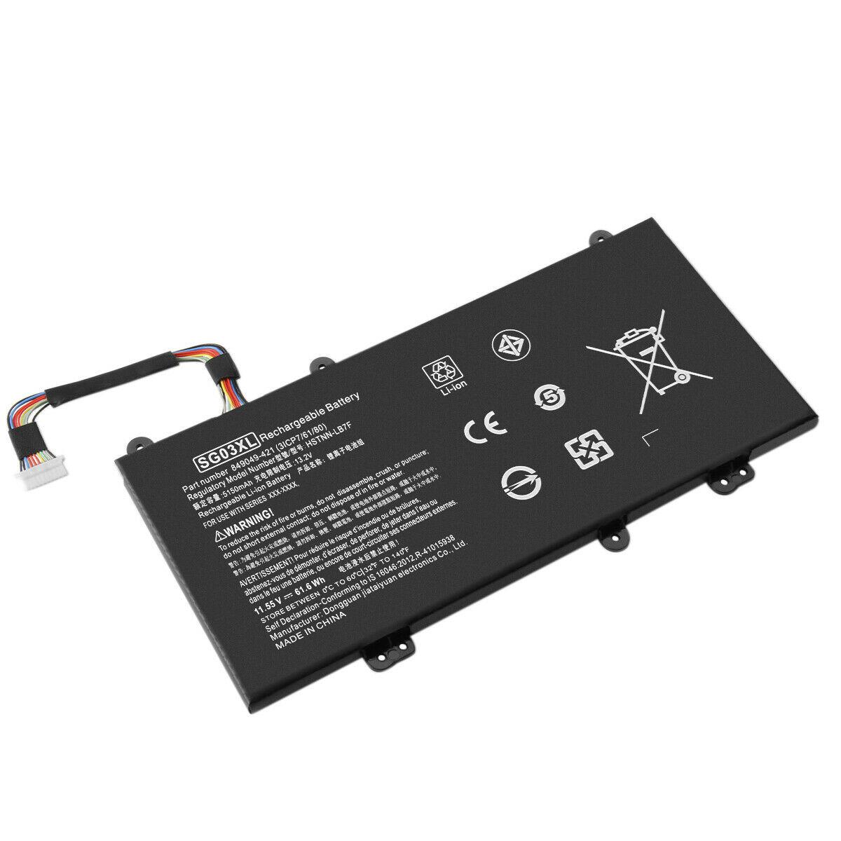akku für 11.55V SG03XL SGO3XL HP Envy 17 Notebook M7 HSTNN-LB7E 849315-850 (kompatibel)